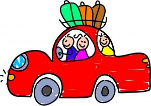 """""""family travelling by car"""""""